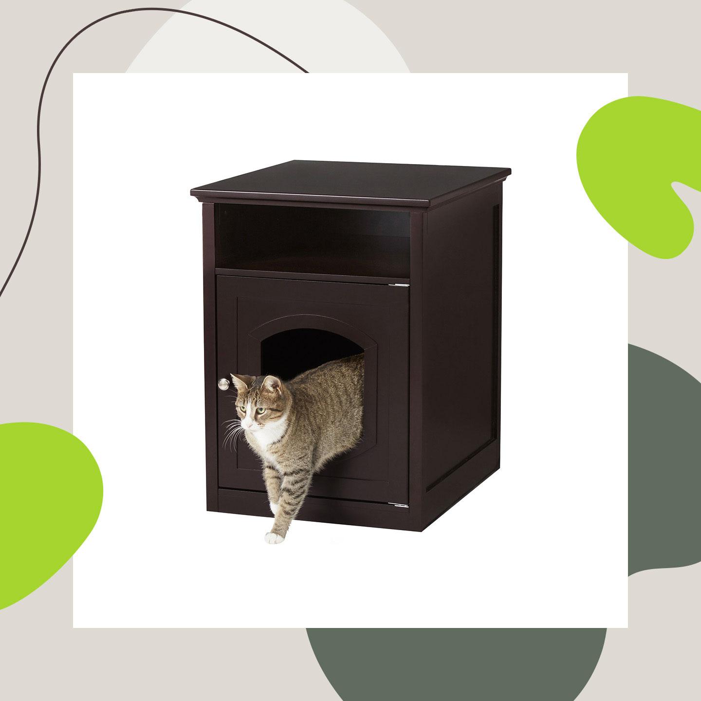 best cat litter box - litter box furniture