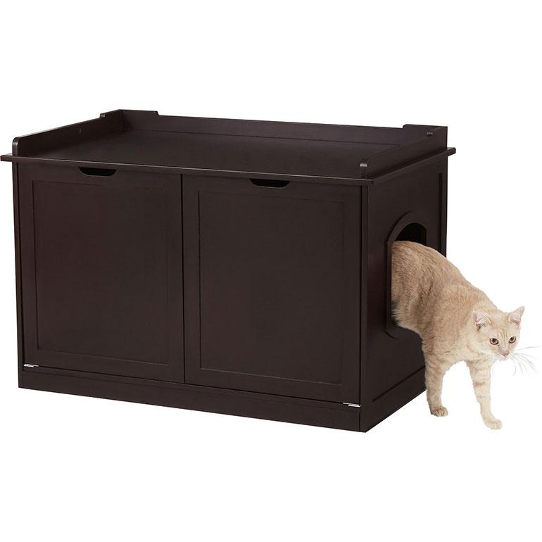 best cat litter box furniture - frisco bench