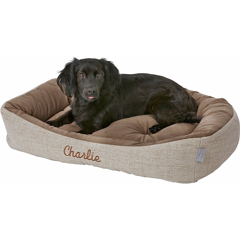 dog personalization gifts custom dog bed
