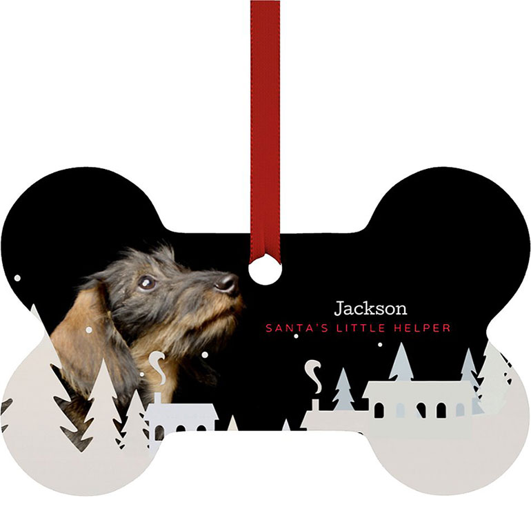 custom pet gifts with pet photos - ornament