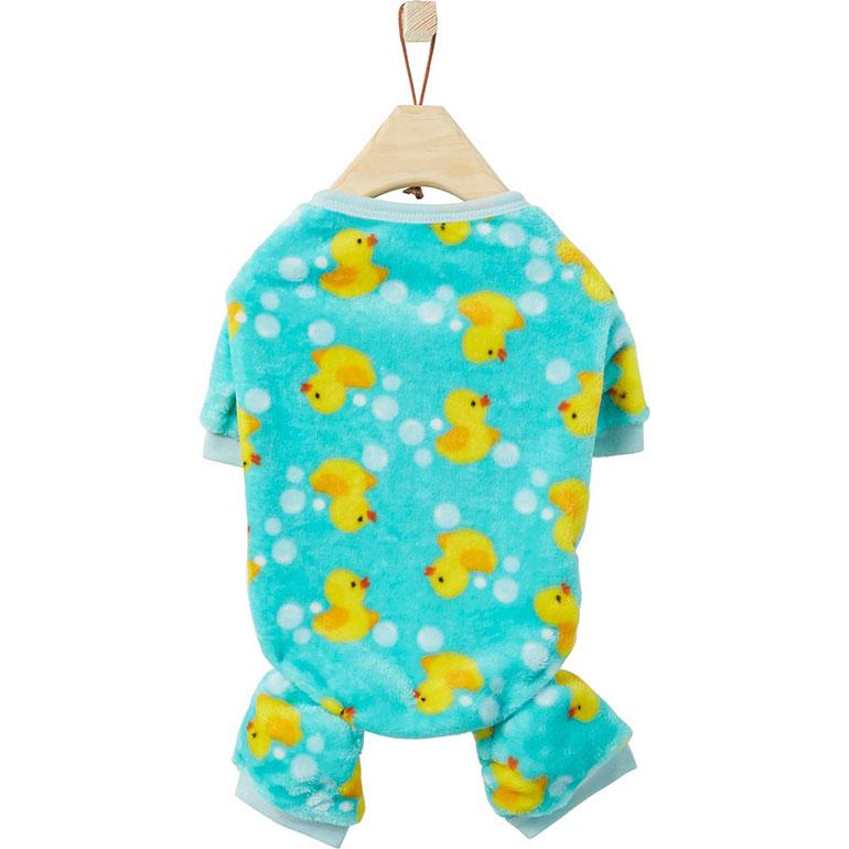 dog onesie pajamas - ducks