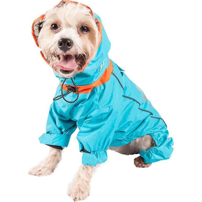 dog winter clothes - helios dog snowsuit