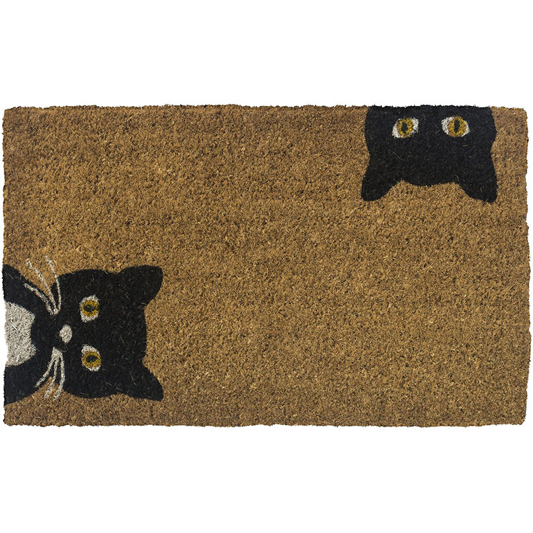 Christmas gifts for cat lovers - door mat