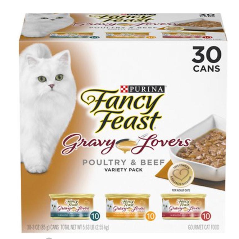 Fancy Feast Gravy Lovers Variety Pack Cat Food