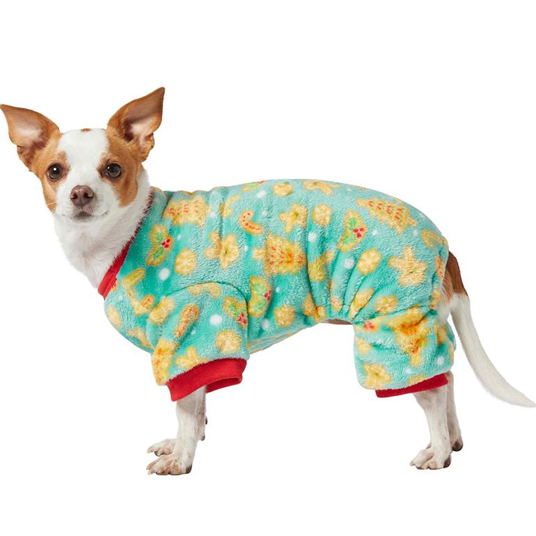 Frisco Holiday Cookies Cozy Fleece PJs