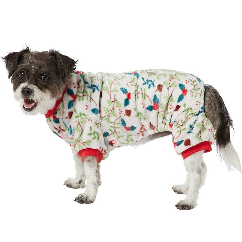 Frisco Holiday Foliage Cozy Fleece PJs