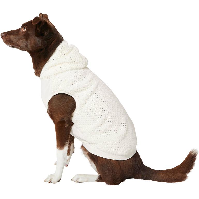 Frisco Plush Fur Dog & Cat Hoodie