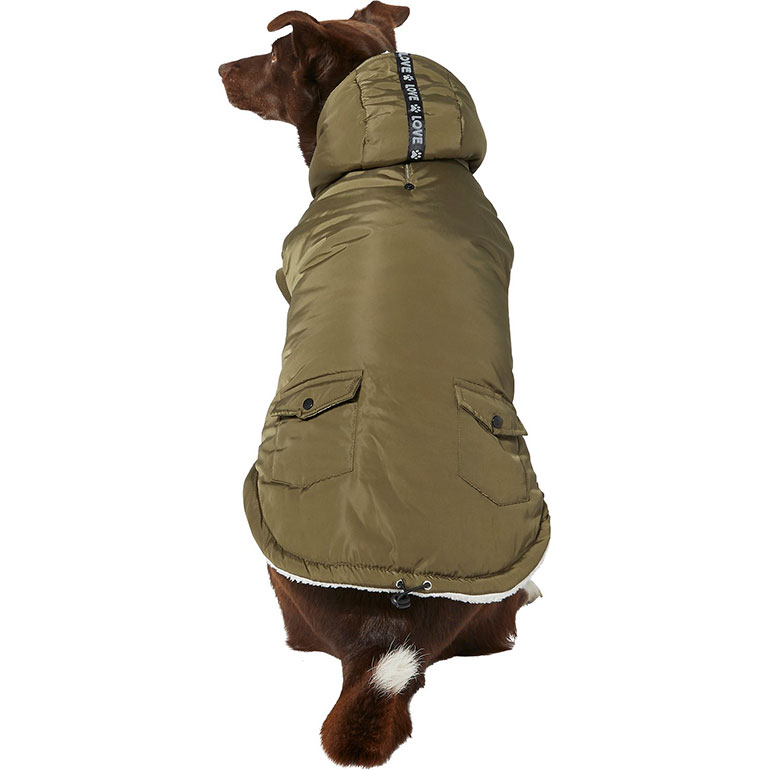 Frisco Love Insulated Dog Coat