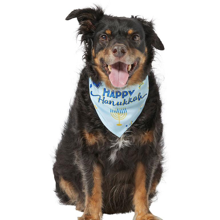 Frisco Happy Hanukkah Dog Bandana