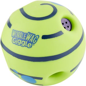 As Seen on TV Wobble Wag Giggle Ball Squeaky Dog Toy