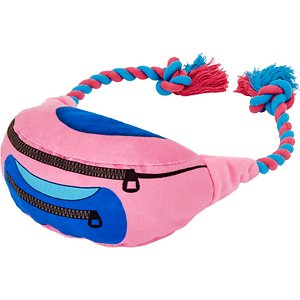 Frisco Retro Fanny Pack Plush with Rope