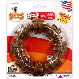 Nylabone DuraChew Textured Ring Flavor Medley Dog Chew Toy