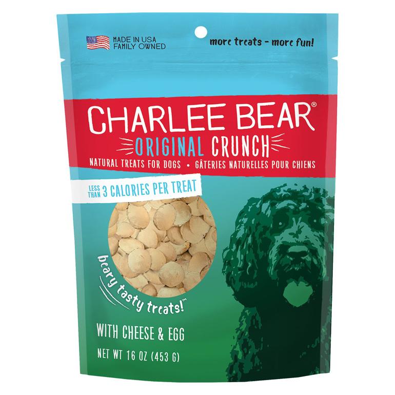 Charlee Bear Cheese & Egg Dog Treats