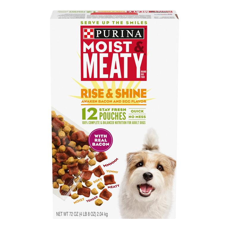 Moist & Meaty Rise & Shine Dry Dog Food