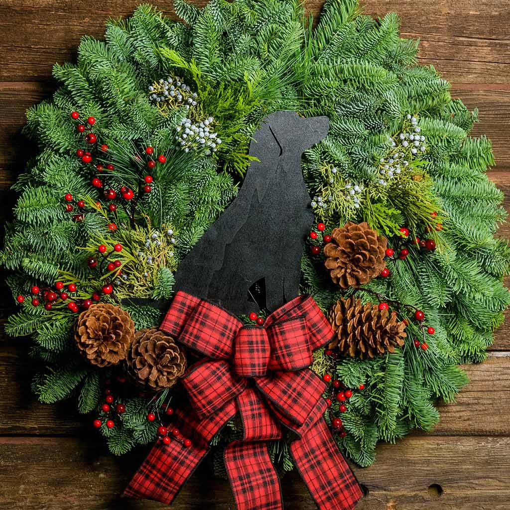 Holiday Wreaths for Boxers