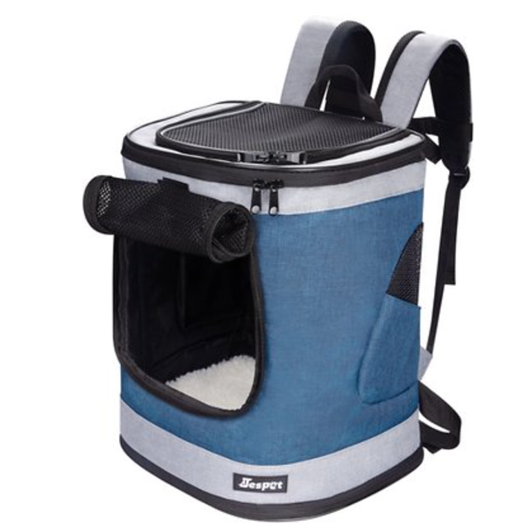 JesPet Dog & Cat Carrier Backpack