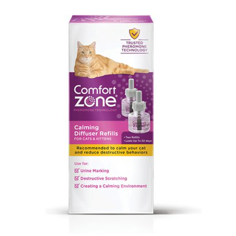 Comfort Zone 2X Pheromone Formula Calming Refill for Cat Calming