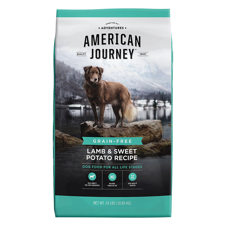 American Journey Lamb & Sweet Potato Recipe Grain-Free Dry Dog Food