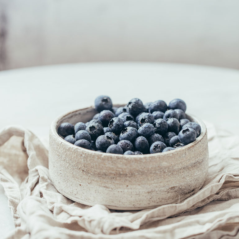 human foods for cats - Blueberries