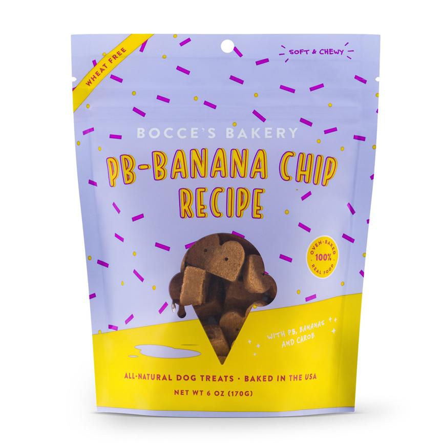 Banana dog treats