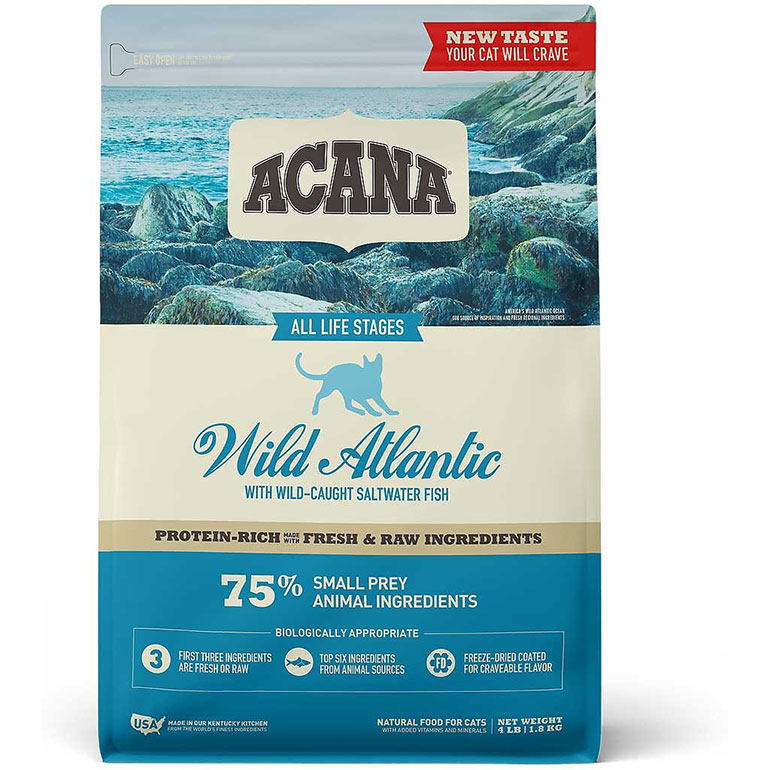 premium high protein cat food- acana