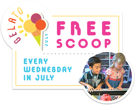 Gelato July: Free Scoop Every Wednesday In July