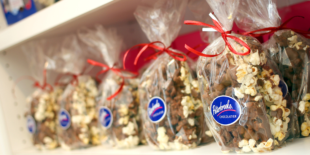 Peterbrooke's Chocolate Covered Popcorn