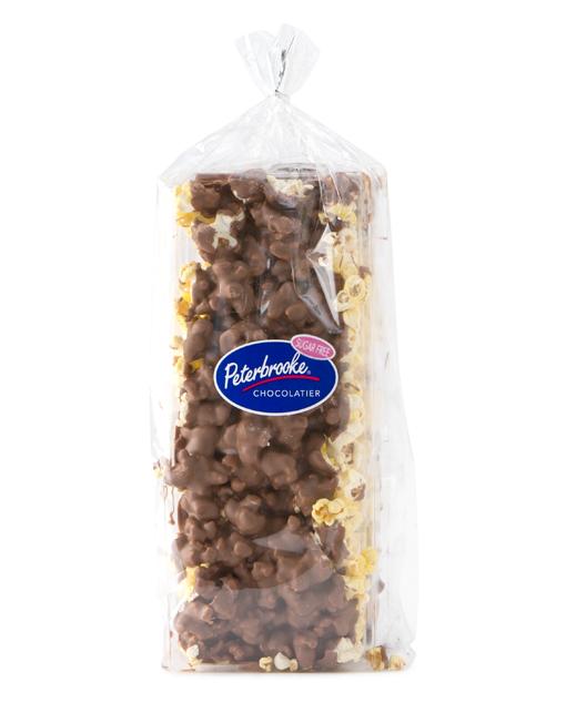12oz Sugar Free Milk Chocolate Covered Popcorn