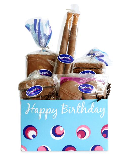 Birthday Box Basket