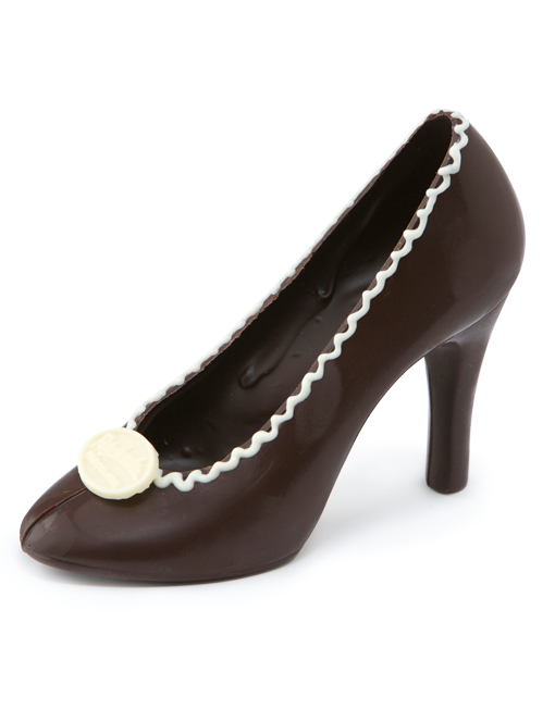 Dark Chocolate Shoe