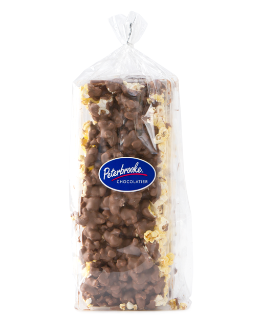 24oz Milk Chocolate Covered Popcorn