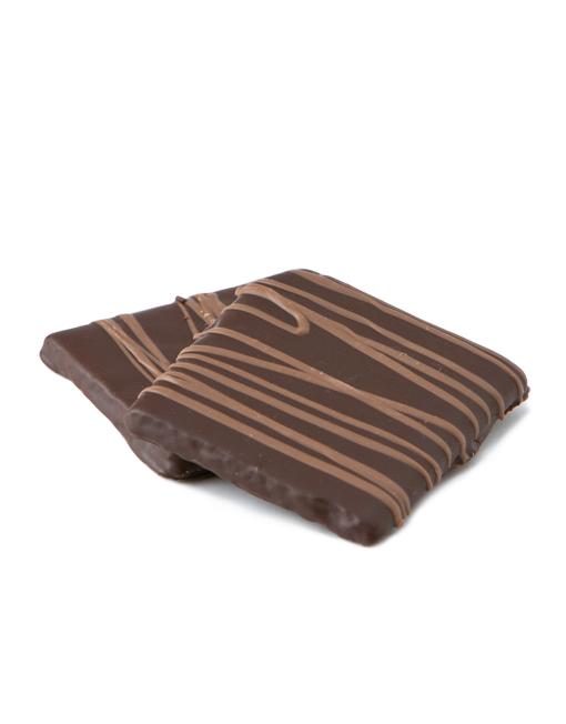 Dark Chocolate Covered Graham Crackers