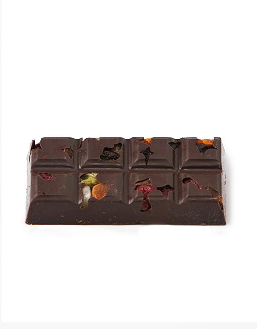 Dark Chocolate Fruit and Nut Bar