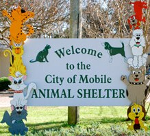 Pets for Adoption at City of Mobile Animal Shelter, in