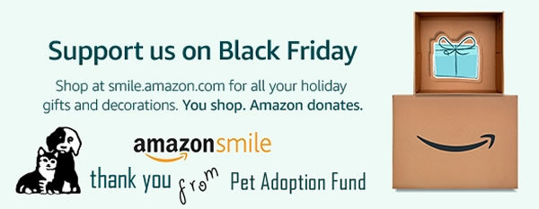 Shop at AmazonSmile anytime and support us!