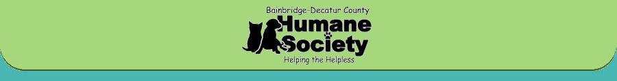 Bainbridge - Decatur County Humane Society