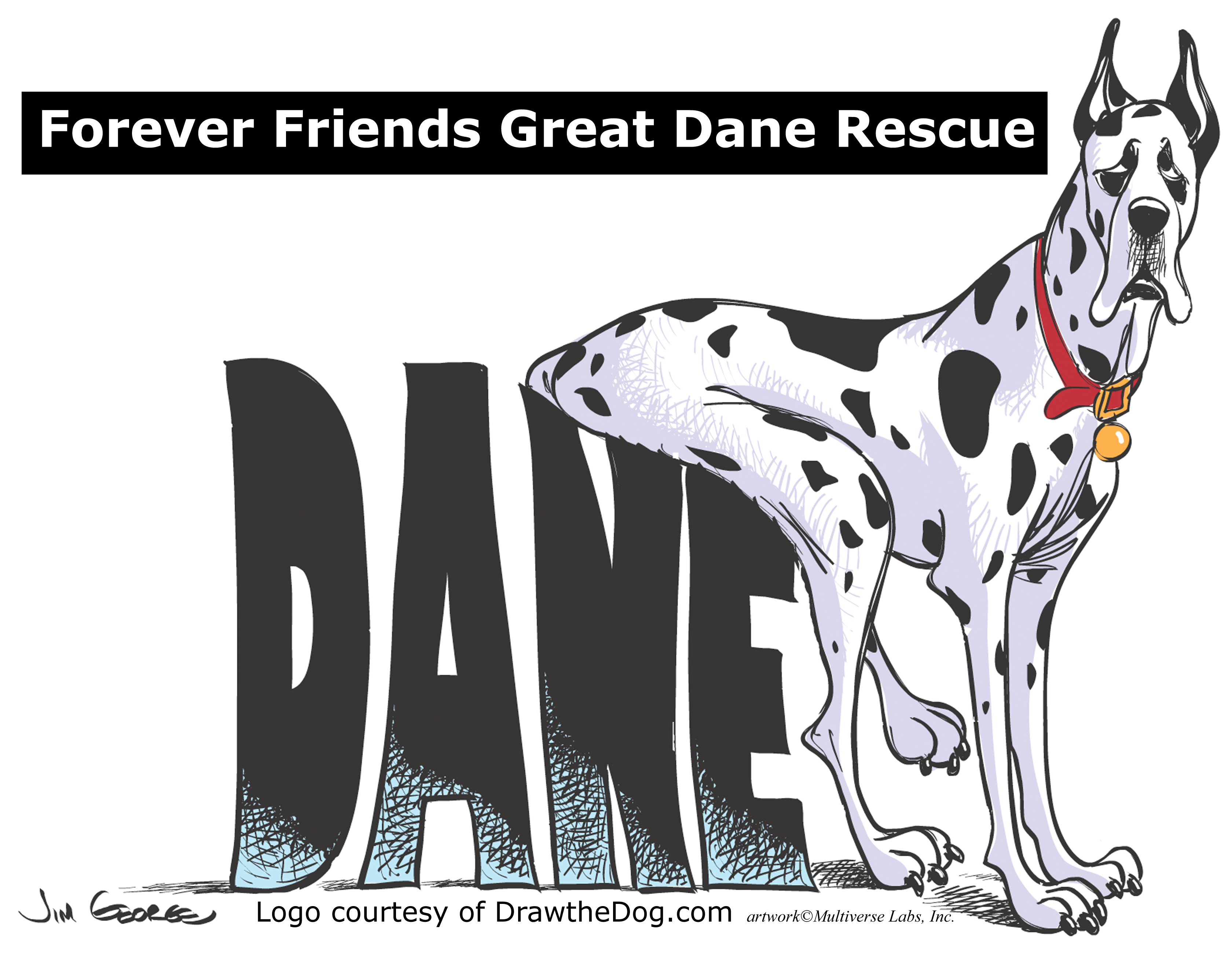 Pets for Adoption at Forever Friends Great Dane Rescue in Morris