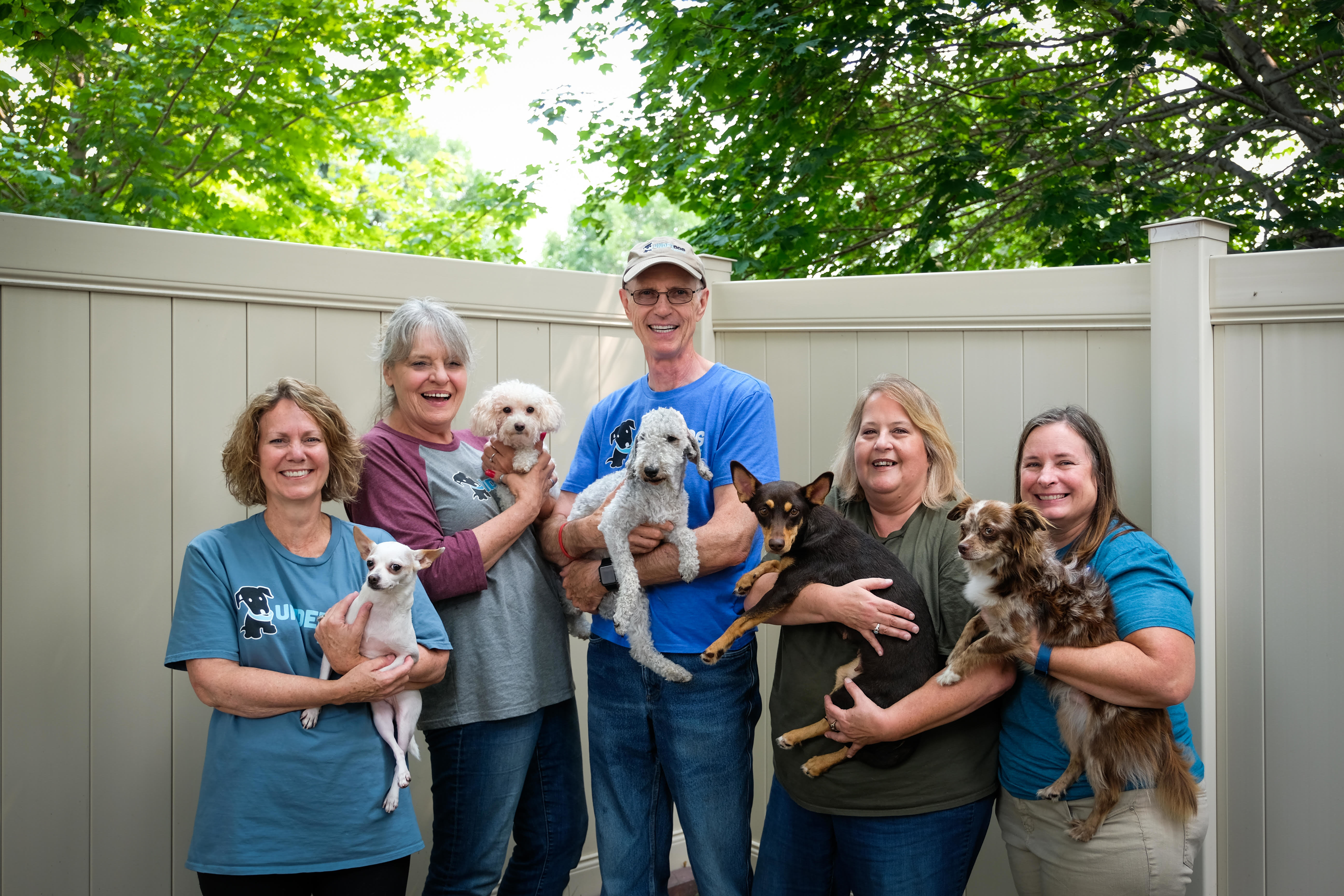 Underdog Rescue volunteers and fosters.