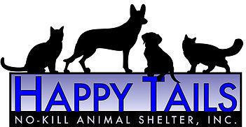 Happy Tails No Kill Animal Shelter Logo