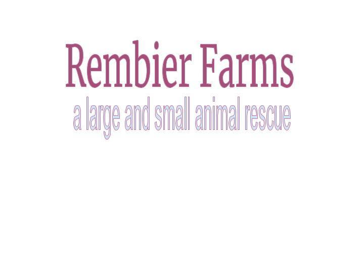 Rembier Farms logo