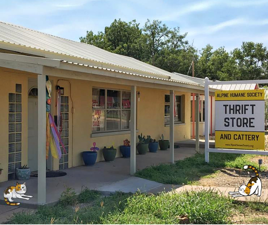 AHS office is located inside AHS Thrift Store