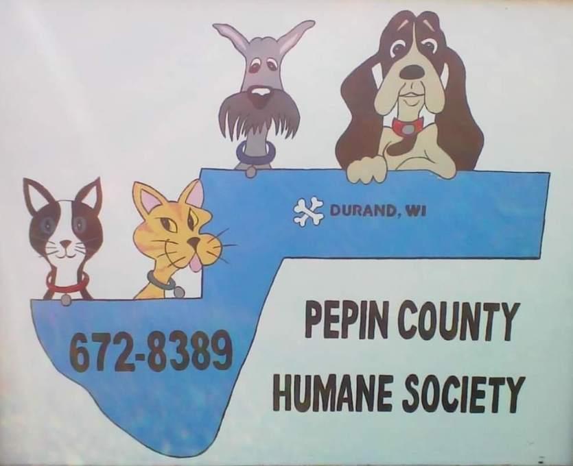 Pets for Adoption at Pepin County Humane Society, in Durand, WI