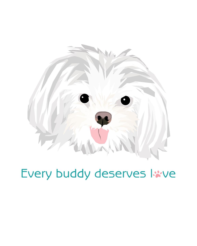 Every buddy deserves love!