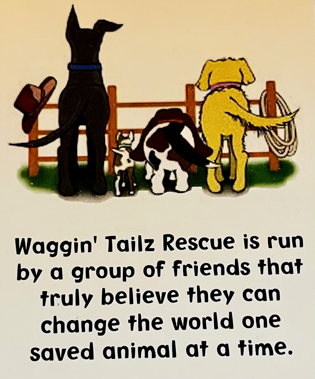 Waggin' Tailz Rescue and Adoptions
