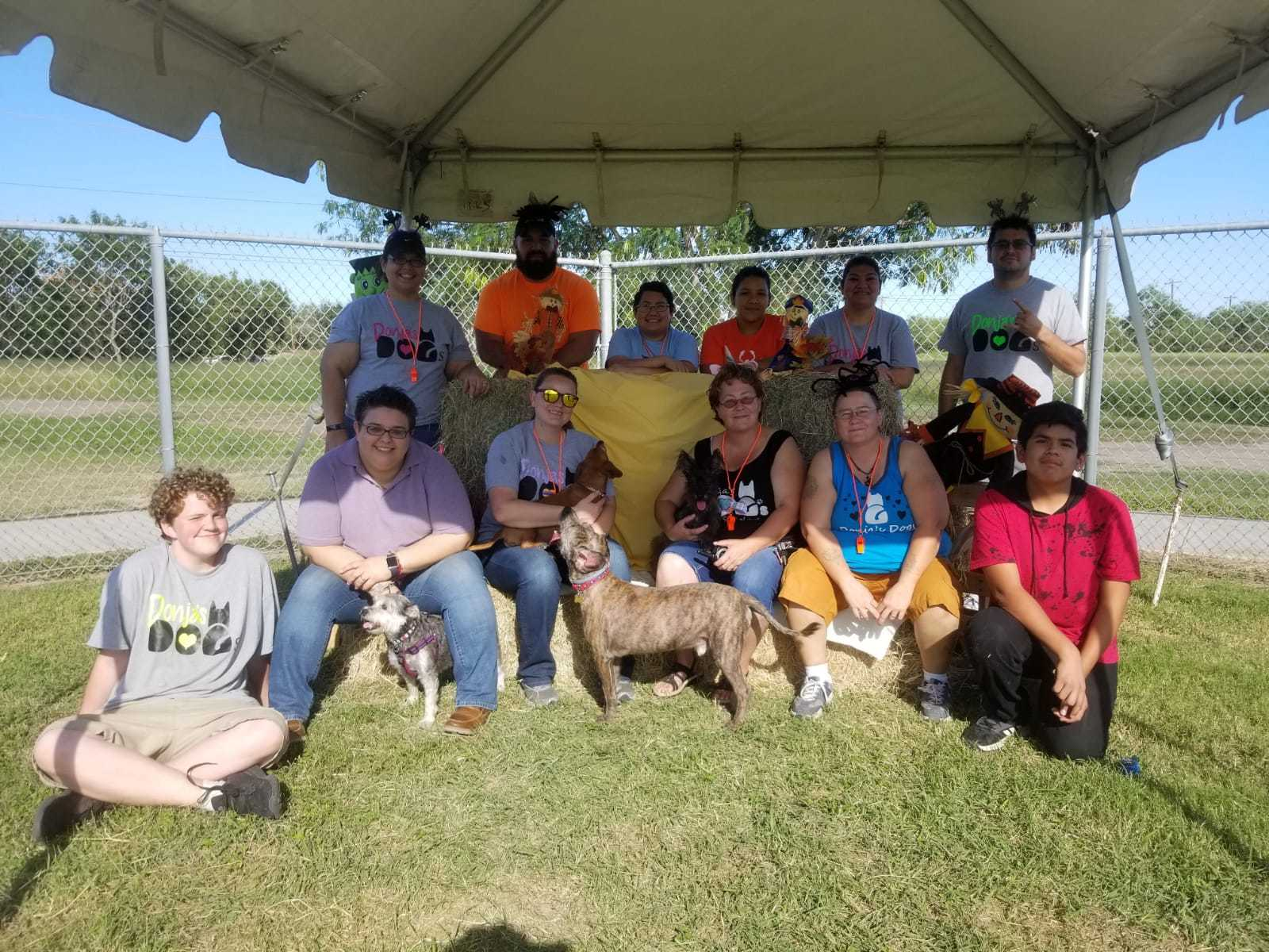 First Annual Donja's Dogs Reunion Volunteers