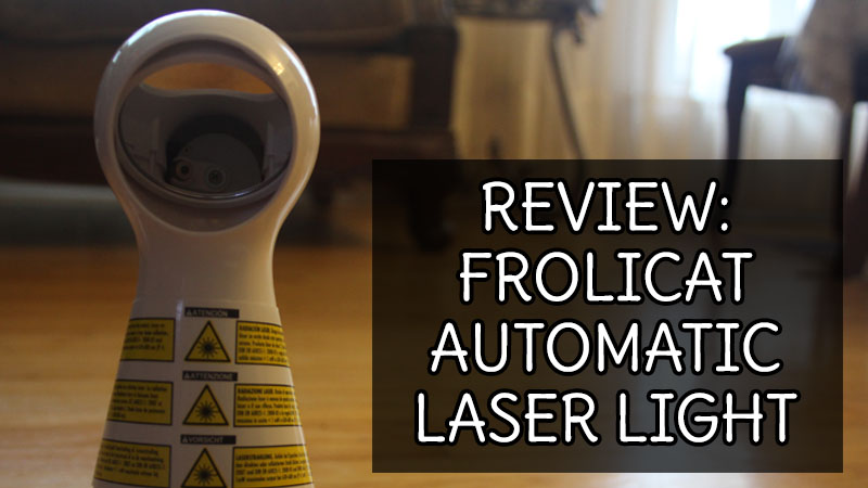 REVIEW: Frolicat Automatic Laser Light (Laser Cat Toy)