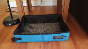 REVIEW: SturdiBox Foldable Water Tight Box (Litter Box, Food & Water Bowl)