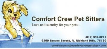 Comfort Crew Pet Sitters