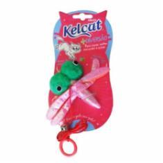Brinquedo Kelcat Libélula Colorida para Gatos