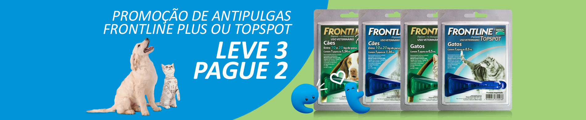Banner Frontline Leve 3 Pague 2